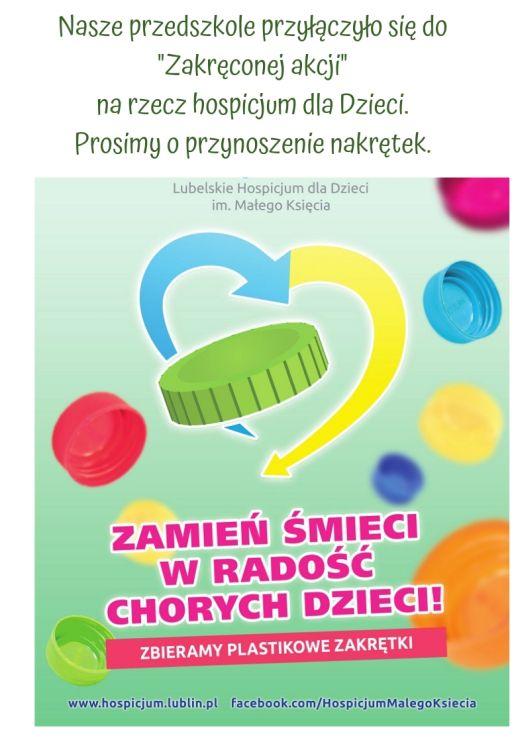 Zamień śmieci w radość chorych dzieci!