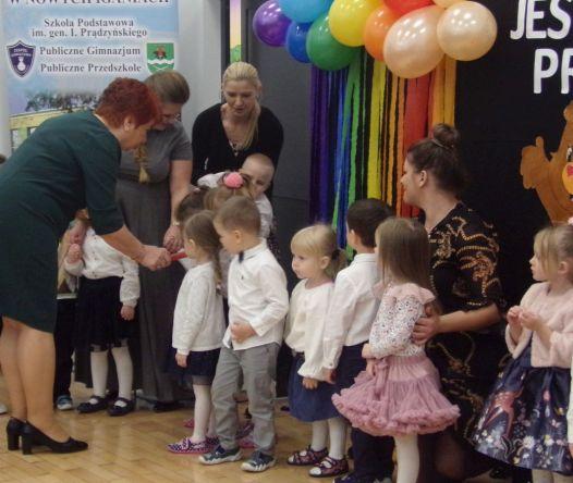 Uroczystość Pasowania na przedszkolaka  i Otwarcia nowej części przedszkola