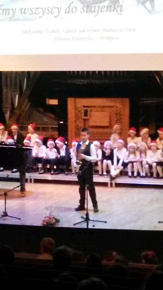 Świąteczny koncert w Szkole Muzycznej