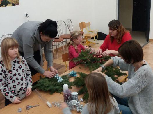 Warsztaty świąteczne u sześciolatków