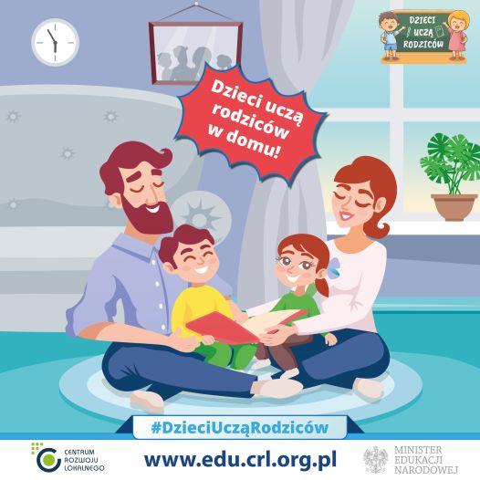 Dzieci uczą Rodziców w domu.