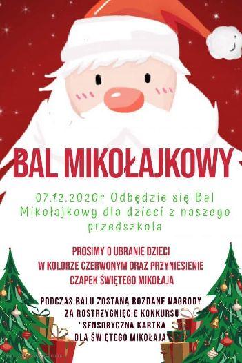 Bal Mikołajkowy